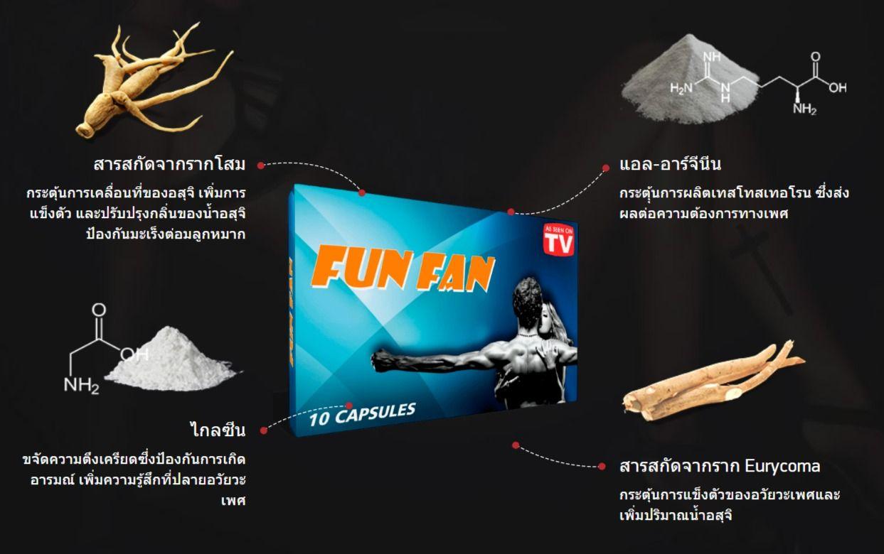 Fun Fan - Thailand - เว็บไซต์ของผู้ผลิต - ซื้อที่ไหน - ขาย - lazada